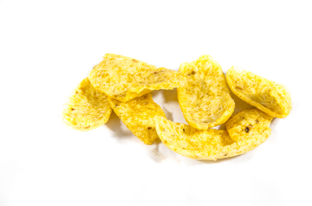 This article is about the small, salty chips like Fritos. Imagens