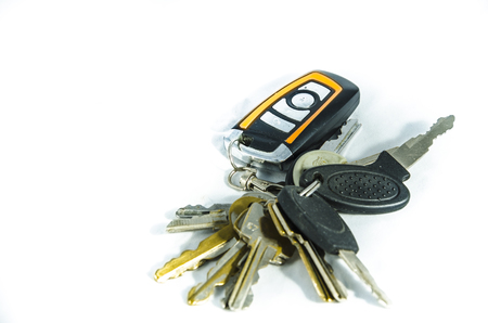 A key is a device that is used to operate a lock (such as to lock or unlock it).