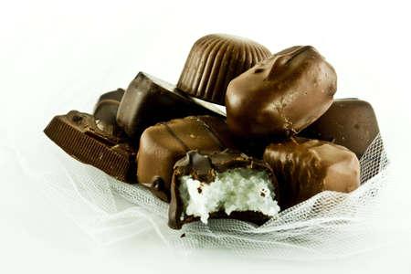 Chocolate Candy Reklamní fotografie