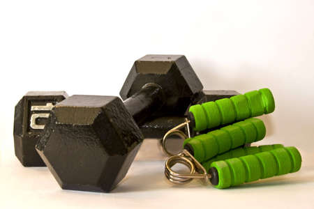 exercise bars and hand grips Stock fotó - 4364669