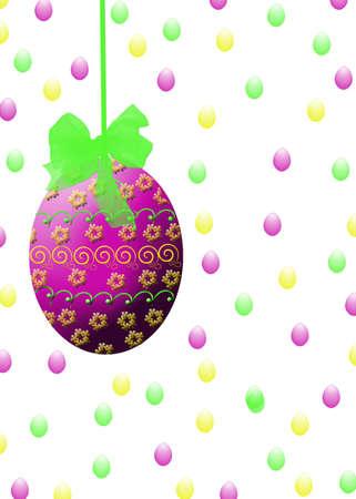 Easter Egg Print Фото со стока