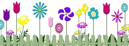 Spring Flower Print 版權商用圖片