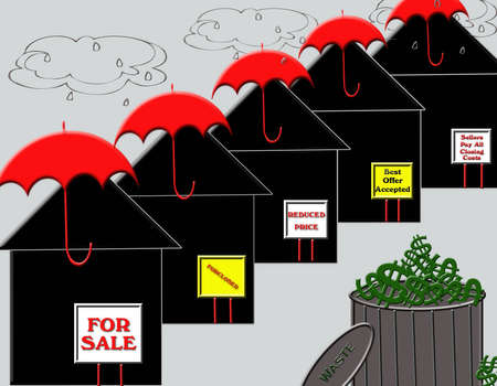 corporate waste: Stormy weather in the real estate market