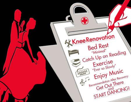 무릎 보충 삽화