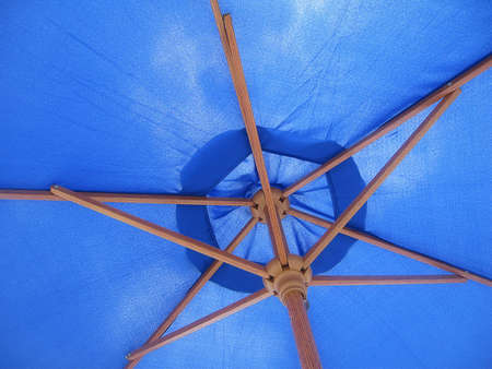 Beach Umbrella Inside