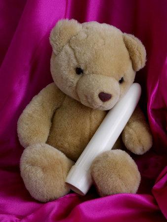 Teddy met mijn toverstaf
