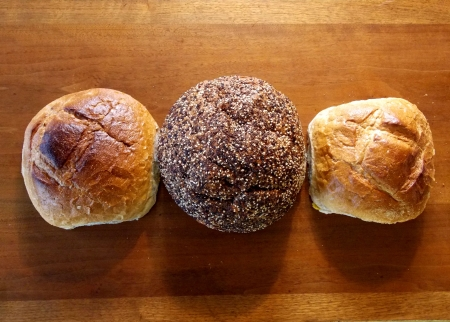 boules: Three Boules