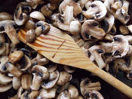 Cooking Mushrooms Imagens - 21011065