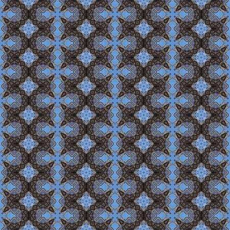 tile pattern: decorative seamless fractal pattern tile