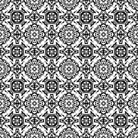 slant: decorative seamless fractal pattern tile