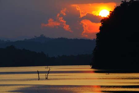 telephoto: Sunset Stock Photo