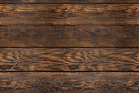 Old wooden plank background. Seamless texture. Vintage brown wood pattern, top view.