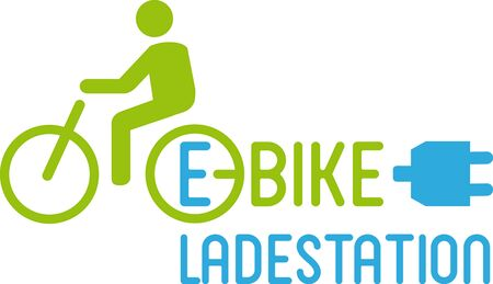 E-Bike charging point Stock Vector - 16624724