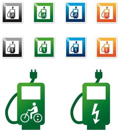 filling: E-bike filling station