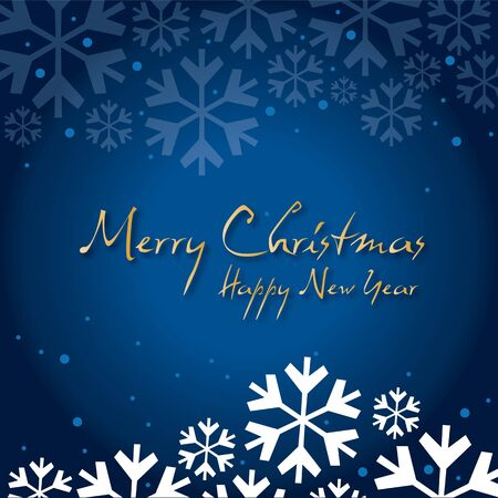 snow drift: Greeting Card Christmas