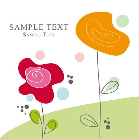 inimitable: Greeting Card Spring Illustration
