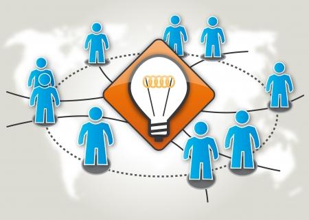 Crowdsourcing, swarm removal, think tank, Schwarmintelligenz