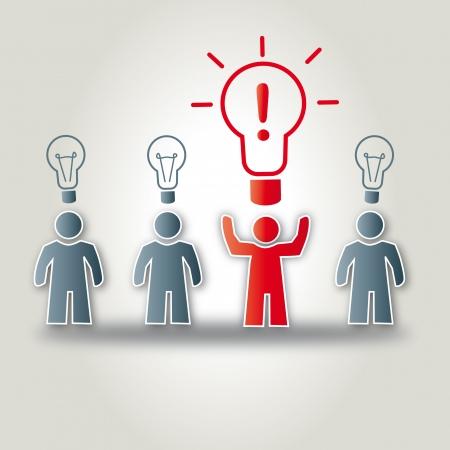 deliberation: Strong Idea, Geistesblitz, Idee, Innovation, Heureka