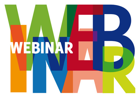 webinar, word, color, transparency