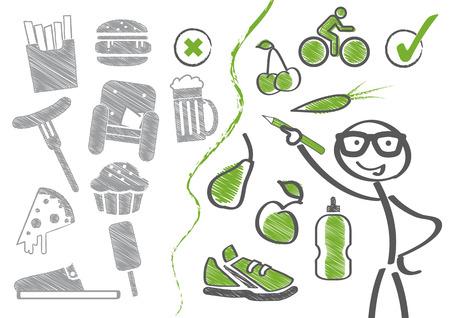 jahreswechsel: Cambiamento di dieta Nuove abitudini
