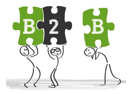 b2b: Business-to-business (B2B) describe las transacciones de comercio entre empresas