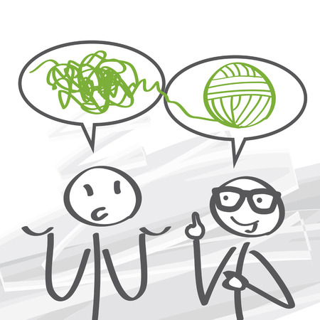 psicologia: la resoluci�n de problemas es un proceso mental en psicolog�a Vectores