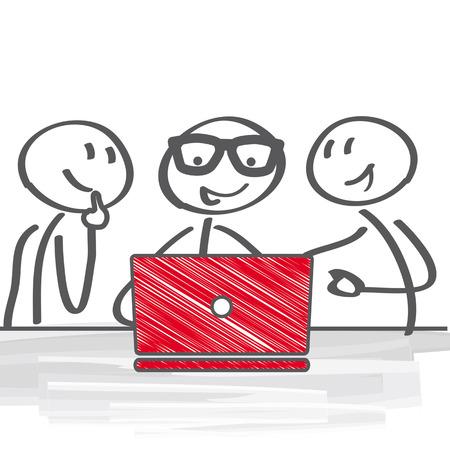 reuniones empresariales: La gente de negocios que tienen reuni�n