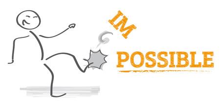 Cambiando la palabra imposible es posible