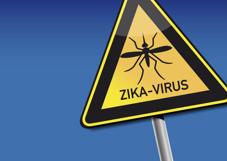 cdc: Symbol - Attention Zika Virus Illustration