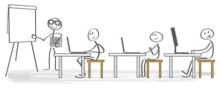 Business training concept. Corporate training staff