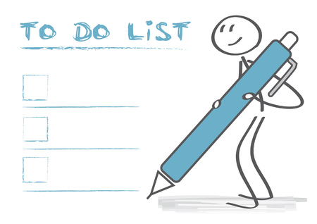 To do list conceptual vector illustration