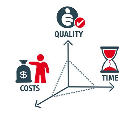 formula for success concept vector illustration Vectores