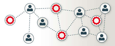 Collaboration, business, teamwork and communication concept