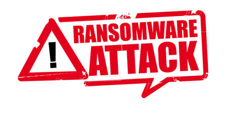 Rubber Stamp ransomware attack - cyber security and brech data web