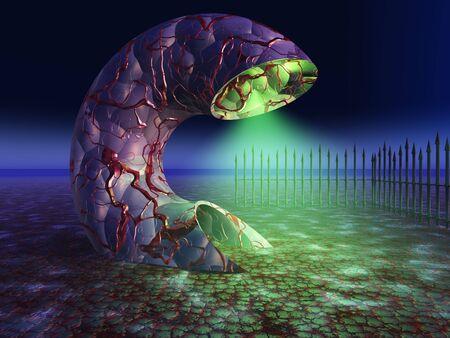 ghastly: Ghastly Swamp Creature