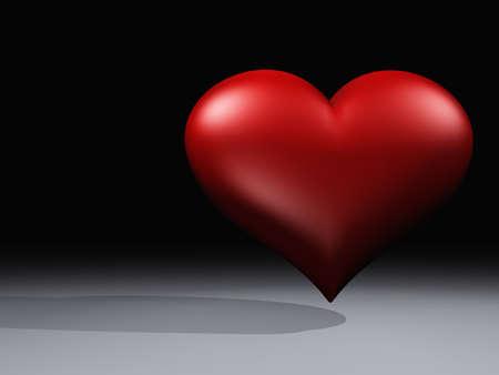 better: 3D Round Illuminated Heart