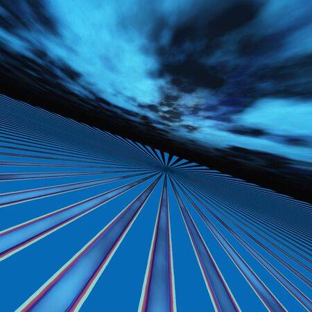 Abstract Horizon Perspective