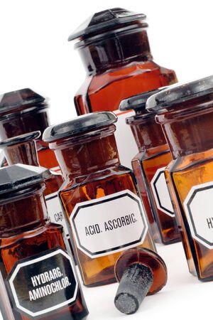 vitamin C (ascorbic acid) in old tincture Stock Photo - 9604943