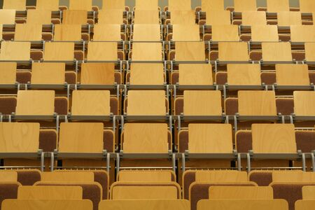 empty university class room Stock Photo