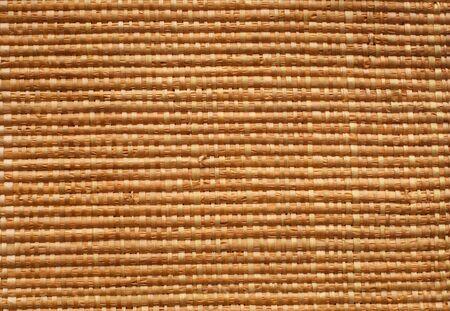 hand made straw mat - nice pattern