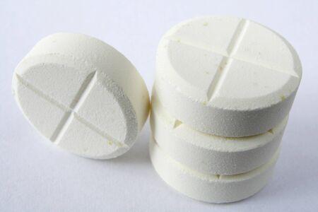 pill in plastic jar