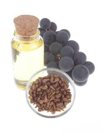 L'huile de pépins de raisin Banque d'images - 17814489