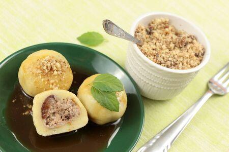plum dumplings photo