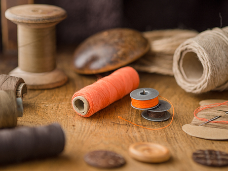 Vintage tools for sewing