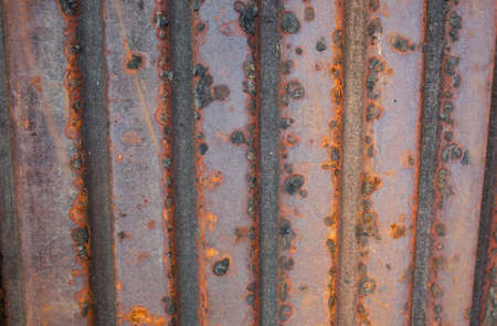 rusted background: Zinc texture background, Rusted background