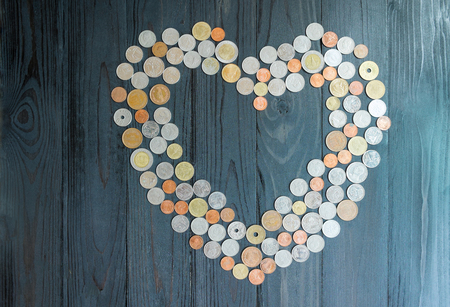 financial planning married: Saving for marry, Abstract of love, Symbol of love