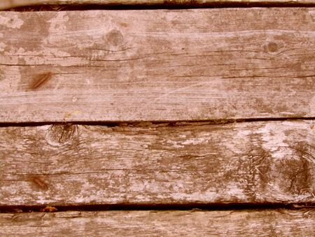 texture of old wooden brown boards. Stock photo image Stock Photo