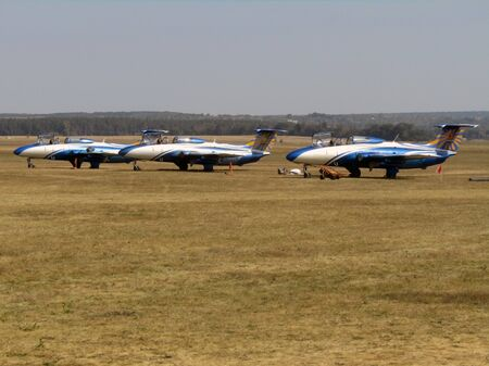 Kharkiv, Ukraine 09.01.2019. airplanes at the Aviafest festival. photo