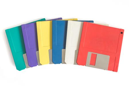 Old Floppy Discs Imagens