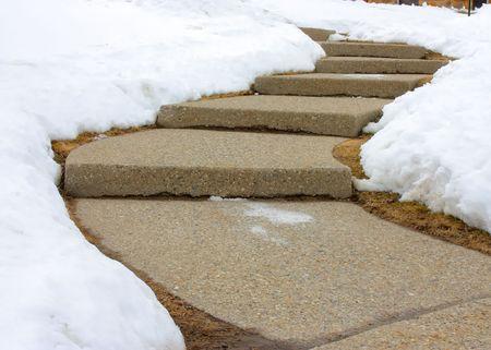 Bending Steps Stock Photo - 7476349